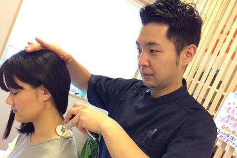 肩こり・頭痛施術